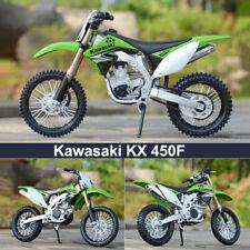 Maisto 1:12 Scale Kawasaki Kx 450F Motorcycle Diecast Model Metal Motobike Toys