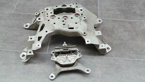 Audi SQ7 Q7 4M Gearbox Mounting Gear Holders 43.863 Km 4M0399118 E/4M0399262 F