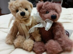 Vintage Ganz Cottage Collectables Mary Holstad Bears Lil Goldie Lil Rosie