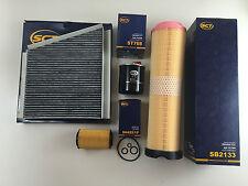 Filtro sct set filtro aceite filtro de aire Filtro de combustible espacio interior filtro w211 CDI