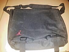 Rare AIR JORDAN Nike MESSENGER LAPTOP Travel Briefcase SHOULDER BAG BLACK