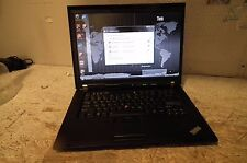 Lenovo ThinkPad T500 Laptop / 2.4GHZ / 4GB DDR3 / 160GB / WIFI / HDMI / Vista