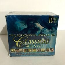 The Wonderful World of Classical Music 10 CD Set Released 2006 Factory Sealed