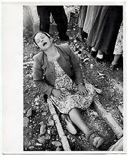 "Photo David Seymour ""Chim"" - Scène de Guerre - WW2 -"