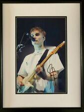 More details for signed & framed sam fender autograph music photo hypersonic missiles