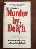 Neil Simon's Murder By Death By Henry Keating 1976 Paperback Movie-Tie-In