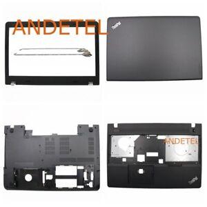 For Lenovo Thinkpad E570 E575 Lcd Back Cover+Bezel+Palmrest+Bottom+Hinge New Lot