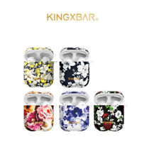 KINGXBAR Bluetooth Earphone Headset Charging Case Cover for Apple AirPods