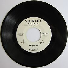 DELILAH: Packin' Up / Pledging My Love -- M- (wol) Funky Soul on Shirley