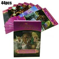 44pcs Romance Angel Oracle Tarot Cards Deck Kit Set Divination Game Toy