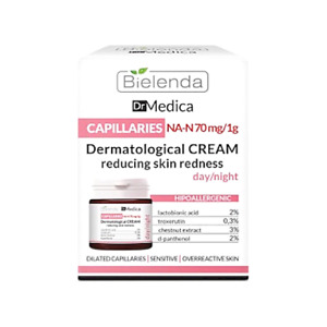Bielenda DR MEDICA Capillaries Dermatological Face Cream for Day / Night 50ml