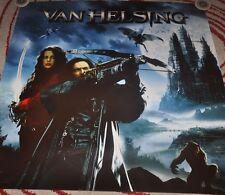 VAN HELSING MOVIE RARE 48 X 48 PROMO POSTER HUGH JACKMAN KATE BECKINSALE