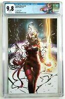 Captain Marvel Vol 9 #8 CGC 9.8 Virgin Variant Inhyuk Lee Carnage-Ized Cover