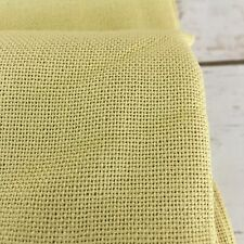 """Fabric Yellow Cloth 132""""""""( 3 yd 24 inch) x 42"""" Wide Lined Material By The Piece"""