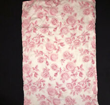 Ikea Emalina Rose Print Duvet Twin Size + Pillow Sham