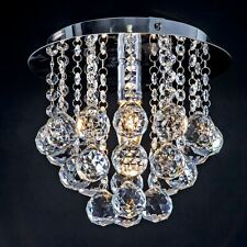 Crystal Ceiling Light 250mm