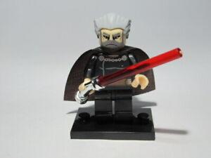 Count Dooku Figuren Steine Star Wars Lego Custom kompatibel Neu OVP 36