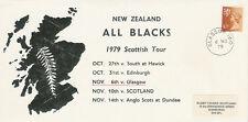 6.11.79 - Glasgow, Scotland v New Zealand All Blacks 1979 commemorative cover