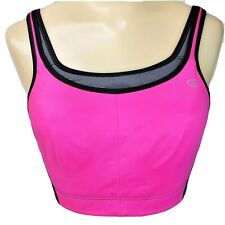Champion Sport Bra Maximum Support Size 34DD Racer Back Adjustable Sides