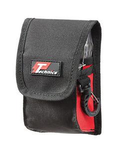 Technics Tape Measure & Keys Holder Tool Belt Pouch Loop Clip Quality Heavy Duty