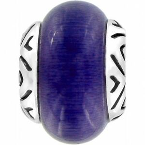 New Brighton ABC Purple Amethyst TRANSFORM Charm Bead    RETIRED