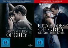 Fifty Shades of Grey 1 + 2 - Geheimes Verlangen - Gefährliche Liebe  | DVD | 021