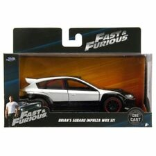Jada Subaru Impreza WRX STI Fast & Furious Brian's 1/32 Silver/Black 98507