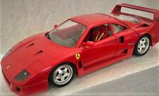 Ferrari F 40 Burago 1987 Modellauto 1:18 Rot