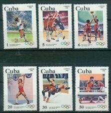 Karibik 2716 - 2721 , ** , Olympische Spiele 1984