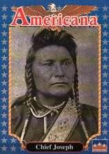Chief Joseph, Indian Chief --- Historic Americana Trading Card --- NOT Postcard