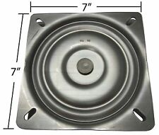 "Bar Stool Swivel Plate Replacement - 7"" - Made in USA - S4697"