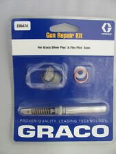 Graco Airless Spray Gun Repair Kit 235474 Silver Plus Gun Flex Plus Gun Kit
