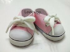 """Pink Sneakers Doll Shoes for 18"""" American Girl  Lovvbugg!  Best Selection Found!"""