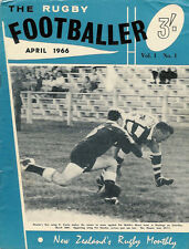 Il rugby calciatore n. 1 APR 1966 Nuova Zelanda MAG LEONI TOUR WILSON whineray