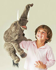 """ELEPHANT Puppet # 2534 (Spectacular 27"""") ~ FREE SHIP/USA ~ Folkmanis Puppets"""