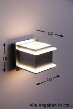 Applique murale LED Spot Design Moderne Lampe de corridor Aluminium/Verre 65960