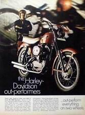 1969 HARLEY-DAVIDSON SPORTSTER  ~  CLASSIC ORIGINAL PRINT AD