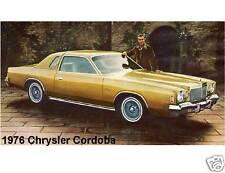 1976 Chrysler Cordoba  Refrigerator / Tool Box  Magnet