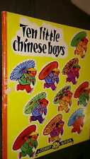 Ten Little Chinese Boys by Duif Wim Boost Teddy Book