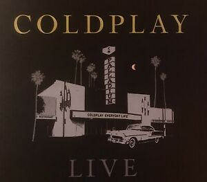 COLDPLAY POSTER HOLLYWOOD PALLADIUM JAN 20 79/300 LOS ANGELES EVERYDAY LIFE TOUR