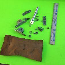 Old truck external mirror bracket parts, kit in photo.   Item:  8246