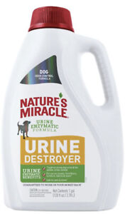 Nature's Miracle Dog Urine Remover with Enzymatic Formula Pour, 1 gallon