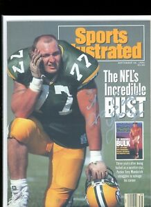 TONY MANDARICH GREEN BAY PACKERSNO LABEL SPORTS ILLUSTRATED signed autographed