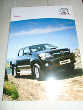 Toyota Hilux brochure Jun 2007 French text