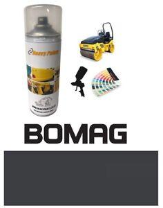 Bomag Roller Dark Grey Paint High Endurance Enamel Paint 400ml Aerosol