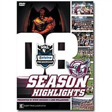 NRL - 2008 MANLY SEA EAGLES SEASON HIGHLIGHTS - New Sealed  DVD - ALL REGIONS