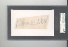 Butch van Breda Kolff auto autograph cut signature SGC JSA certified Princeton
