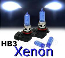 HB3 65W XENON HEADLIGHT BULBS TO FIT Ford MODELS LOW / DIPPED + FREE 501'S