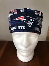 New England Patriots Men's Surgical Scrub Hat - Skull Cap