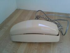 Vintage Trimline 210 AT&T Beige Off-White Push Button Wall Desk Telephone